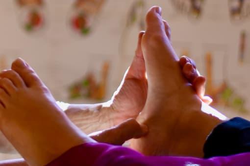 Immagine L'empreinte du pied , Studio de réflexothérapie