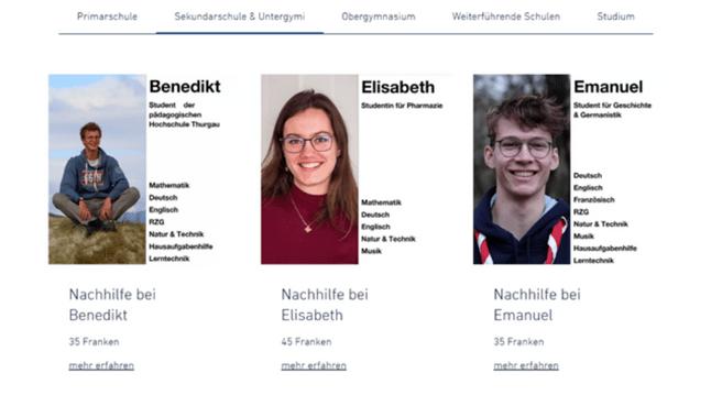 Bild Web Lernen - Schweizweite Online-Nachhilfe ab 30 CHF