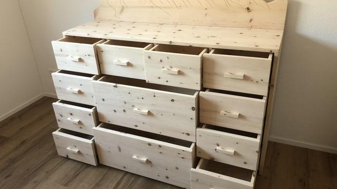 Bild Fischer Massiv Holz Möbel