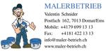 Image Malerbetrieb Inh. Valentin Schnider
