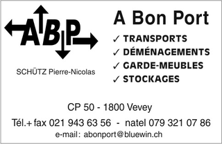 Photo ABP Transports et déménagements, P.N. Schütz
