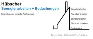 Photo Hübscher Spenglerarbeiten + Bedachungen