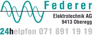 Bild Federer Elektrotechnik AG