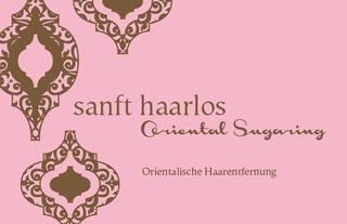 Bild sanft haarlos Oriental Sugaring