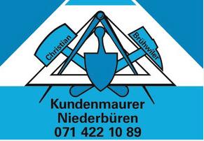 Photo Christian Brühwiler Kundenmaurer GmbH