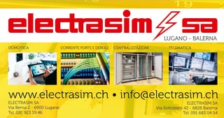 Bild Electrasim SA