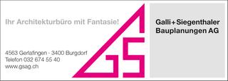 Photo Galli + Siegenthaler Bauplanungen AG