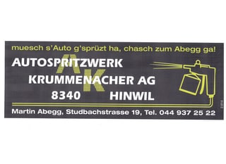 Immagine Autospritzwerk Krummenacher AG