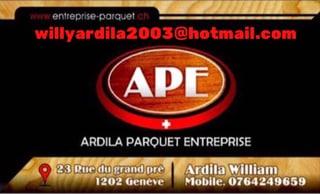 Immagine Ardila Parquet Entreprise