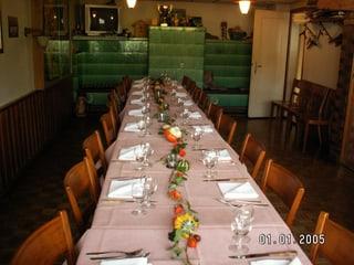 Photo Restaurant Gartenlaube Erdin Dorli