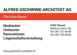 Photo Gschwind Alfred Architekt AG