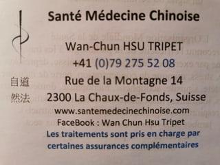 Bild Wan-Chun HSU TRIPET Santé Médecine Chinoise