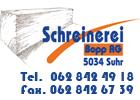 Bild Schreinerei Bopp AG